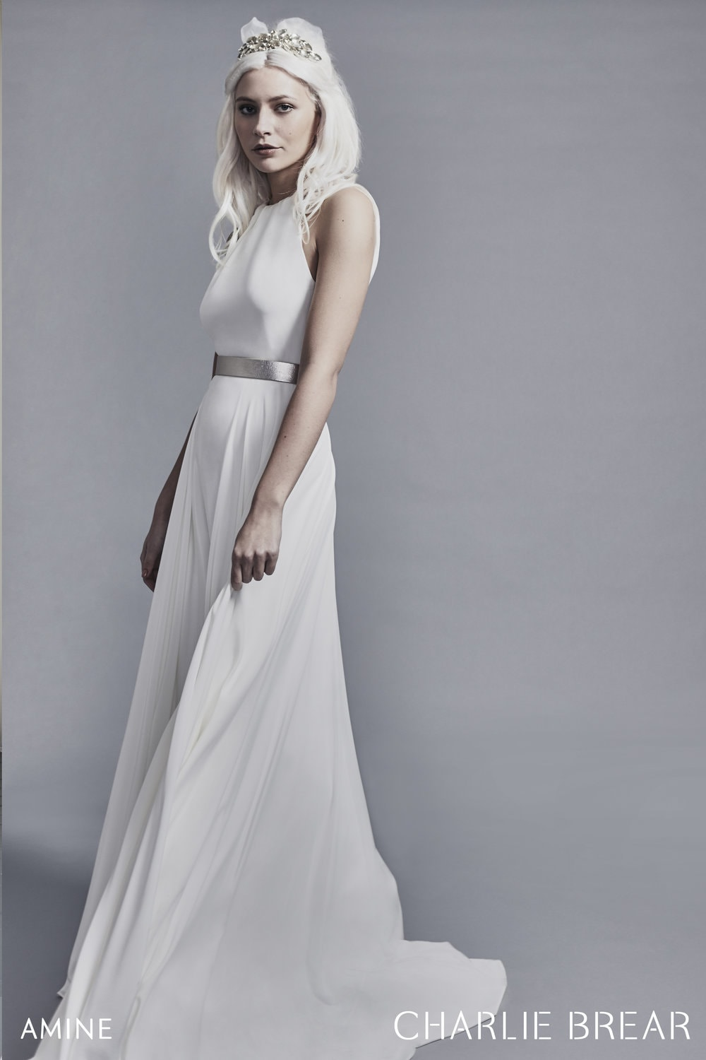 Amine (£2195) with belt detail