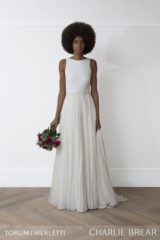 Torum Dress (£1495) Merletti Skirt (£995)